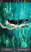 Mermaid - download free live wallpapers for Android. Mermaid full Android apk version for tablets and phones.