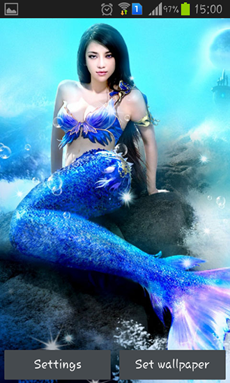Download livewallpaper Mermaid for Android. Get full version of Android apk livewallpaper Mermaid for tablet and phone.