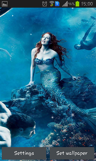 Download Mermaid - livewallpaper for Android. Mermaid apk - free download.