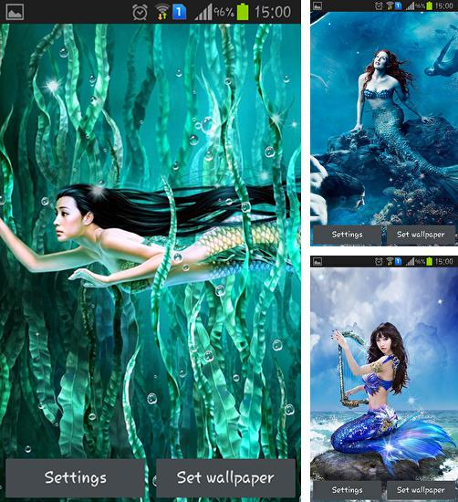 In addition to live wallpaper Moonlight by App Basic for Android phones and tablets, you can also download Mermaid for free.