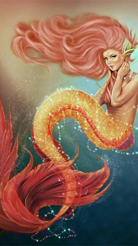 Screenshots of the Mermaid by BestWallpapersCollection for Android tablet, phone.