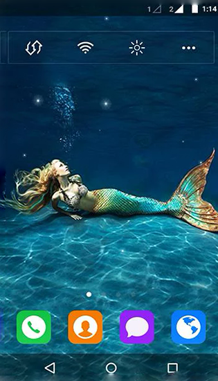 Mermaid by MYFREEAPPS.DE
