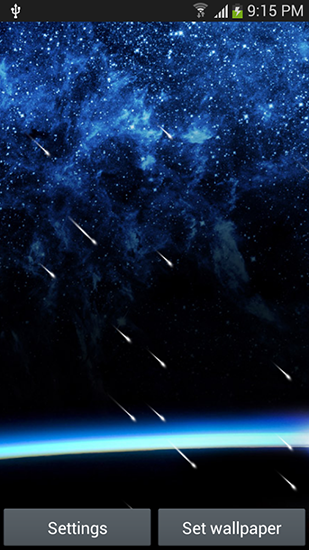 Download livewallpaper Meteor shower by Top live wallpapers hq for Android. Get full version of Android apk livewallpaper Meteor shower by Top live wallpapers hq for tablet and phone.