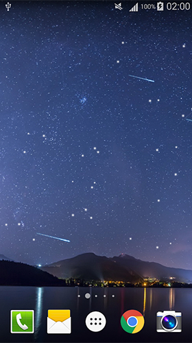 Download livewallpaper Meteors sky for Android. Get full version of Android apk livewallpaper Meteors sky for tablet and phone.