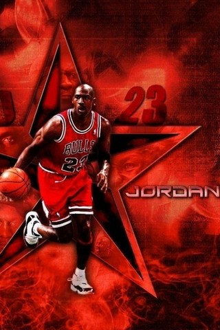 Screenshots of the Michael Jordan for Android tablet, phone.