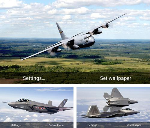 Download live wallpaper Military aircrafts for Android. Get full version of Android apk livewallpaper Military aircrafts for tablet and phone.