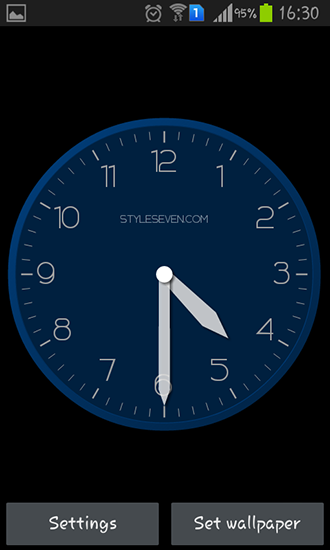 Download Modern clock - livewallpaper for Android. Modern clock apk - free download.