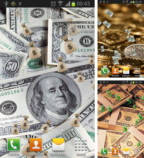 In addition to live wallpaper Rock by Cute Live Wallpapers And Backgrounds for Android phones and tablets, you can also download Money and gold for free.