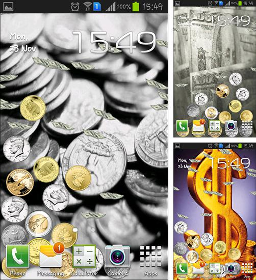 In addition to live wallpaper Moonlight 3D for Android phones and tablets, you can also download Money magnate for free.