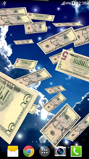 Download Livewallpaper Money Rain For Android Get Full Version Of Apk