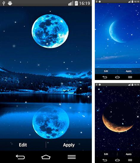 In addition to live wallpaper Mermaid for Android phones and tablets, you can also download Moon light for free.