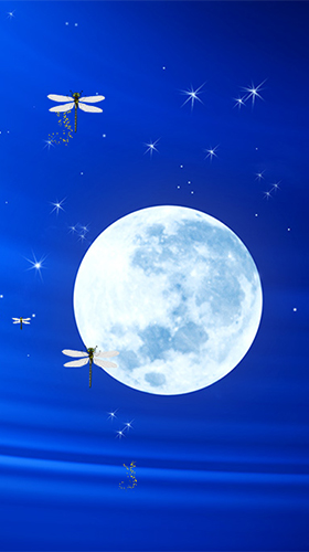 Téléchargement gratuit de Moonlight by Fantastic Live Wallpapers pour Android.
