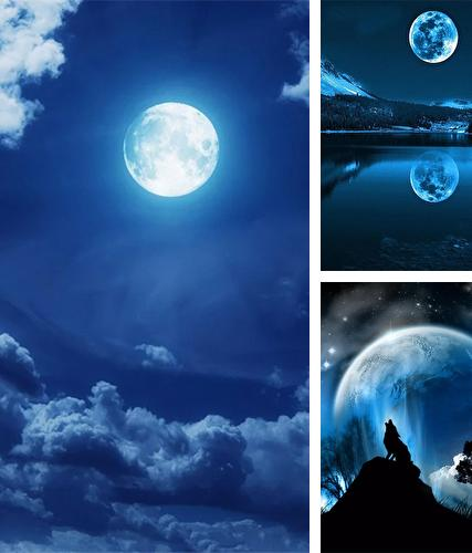 Download live wallpaper Moonlight by Happy live wallpapers for Android. Get full version of Android