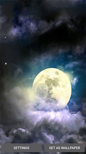 Moonlight by Live Wallpaper HD 3D für Android spielen. Live Wallpaper Mondlicht kostenloser Download.