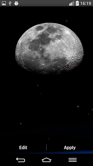 Fondos de pantalla animados a Moonlight by Top live wallpapers para Android. Descarga gratuita fondos de pantalla animados Luz de la luna.