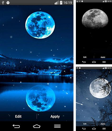 In addition to live wallpaper Steamy window for Android phones and tablets, you can also download Moonlight by Top live wallpapers for free.