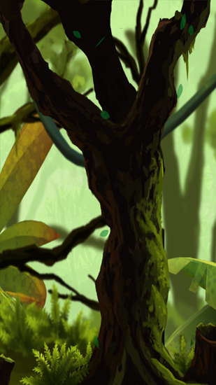 Screenshots of the Mossy Forest for Android tablet, phone.