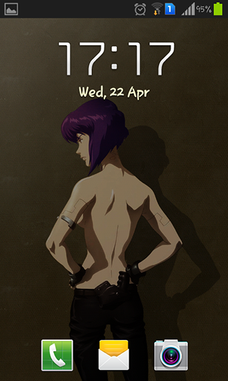Screenshots of the Motoko for Android tablet, phone.
