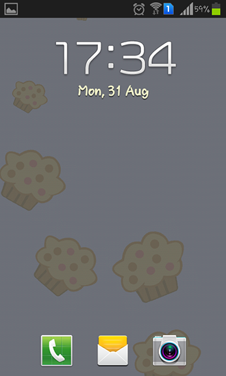 Screenshots von Muffins für Android-Tablet, Smartphone.
