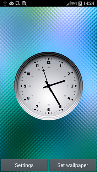 Download livewallpaper Multicolor clock for Android. Get full version of Android apk livewallpaper Multicolor clock for tablet and phone.