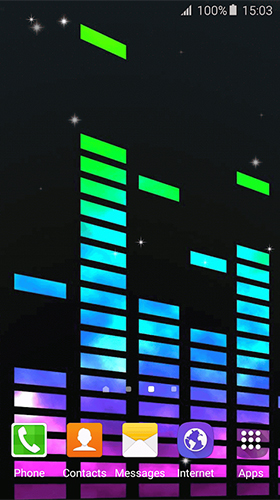 Music by Free Wallpapers and Backgrounds für Android spielen. Live Wallpaper Musik kostenloser Download.