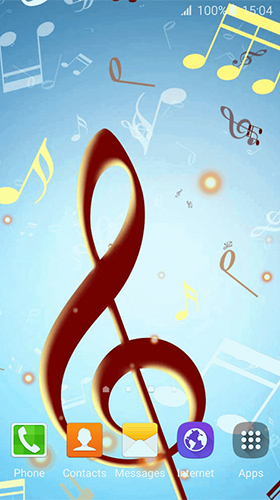 Screenshots von Music by Free Wallpapers and Backgrounds für Android-Tablet, Smartphone.