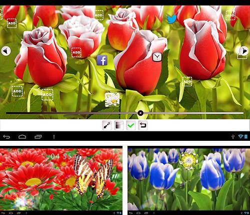 Download live wallpaper My flower 3D for Android. Get full version of Android apk livewallpaper My flower 3D for tablet and phone.