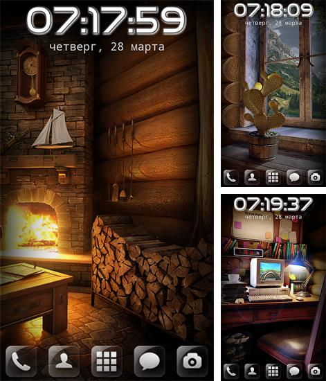Download live wallpaper My log home for Android. Get full version of Android apk livewallpaper My log home for tablet and phone.