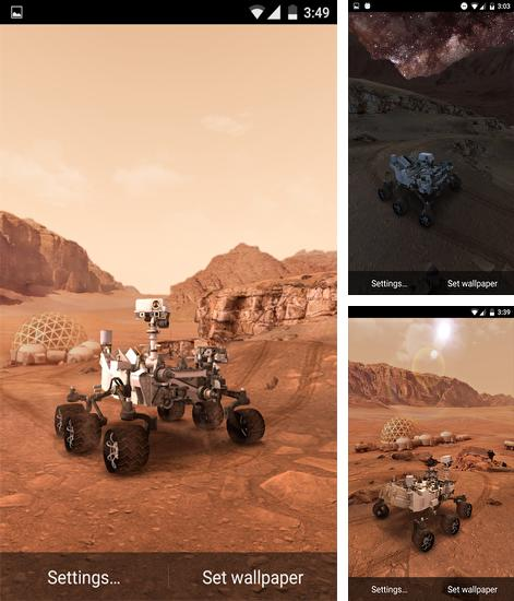 Download live wallpaper My Mars for Android. Get full version of Android apk livewallpaper My Mars for tablet and phone.