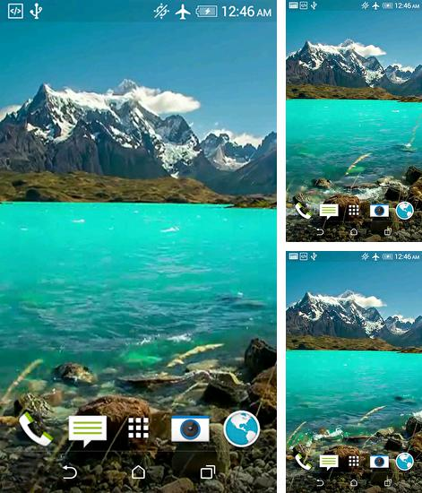 In addition to live wallpaper Mystic halo for Android phones and tablets, you can also download Nature HD for free.