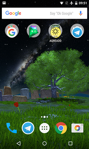 Nature tree live wallpaper for Android. Nature tree free download for tablet and phone.