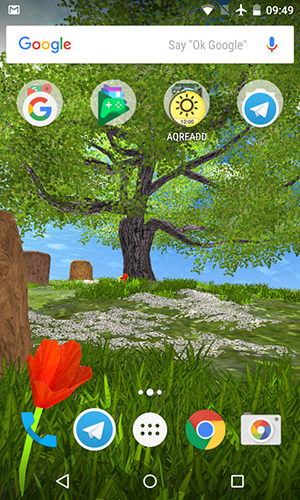 Screenshots von Nature tree für Android-Tablet, Smartphone.