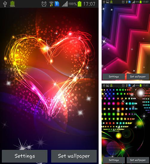 In addition to live wallpaper Cute by Phoenix Live Wallpapers for Android phones and tablets, you can also download Neon for free.
