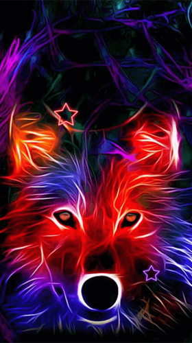 Download livewallpaper Neon animals for Android. Get full version of Android apk livewallpaper Neon animals for tablet and phone.