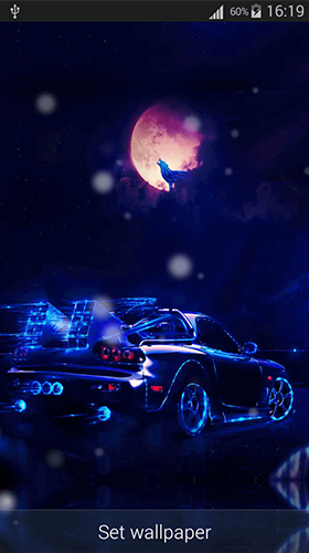 Neon Cars Live Wallpaper For Android Neon Cars Free Download For