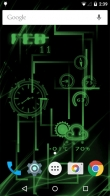 Neon Clock - download free live wallpapers for Android. Neon Clock full Android apk version for tablets and phones.