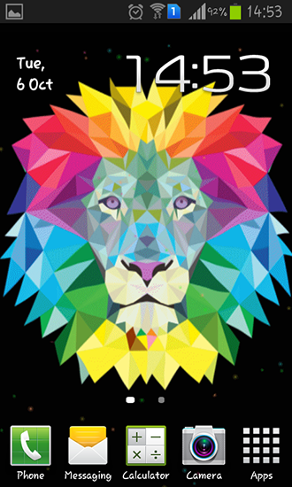 Download livewallpaper Neon lion for Android. Get full version of Android apk livewallpaper Neon lion for tablet and phone.