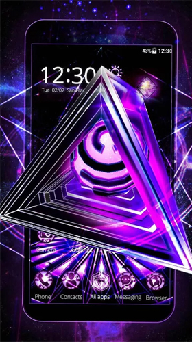 Download Neon triangle 3D - livewallpaper for Android. Neon triangle 3D apk - free download.
