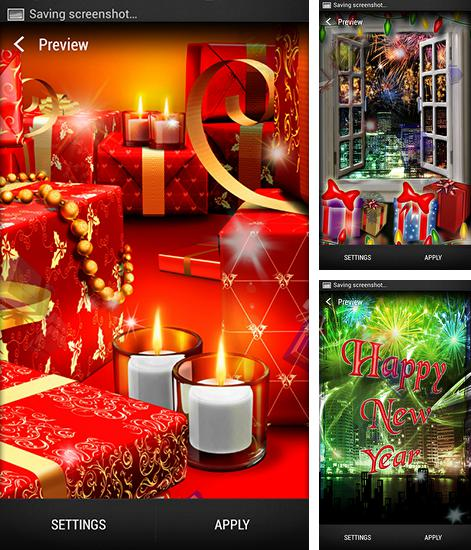 In addition to live wallpaper Stylish backgrounds for Android phones and tablets, you can also download New Year for free.
