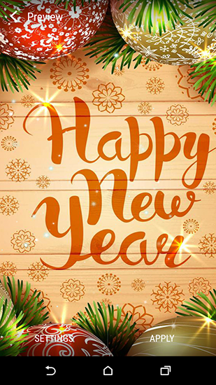 New Year 2016 by Wallpaper qhd live wallpaper for Android. New
