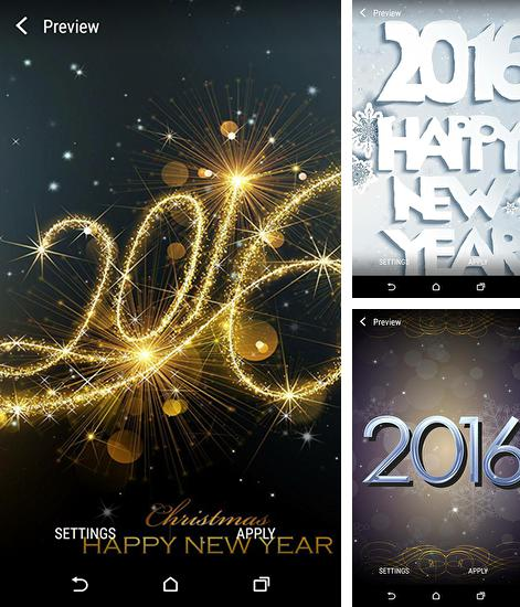 In addition to live wallpaper Pirates for Android phones and tablets, you can also download New Year 2016 by Wallpaper qhd for free.