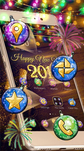new year 2018 live wallpaper for android new year 2018 free download for tablet and phone