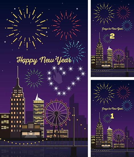 Download live wallpaper New Year by Pop studio for Android. Get full version of Android apk livewallpaper New Year by Pop studio for tablet and phone.