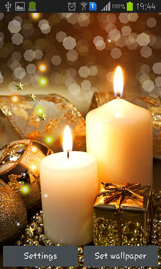 Download New Year candles - livewallpaper for Android. New Year candles apk - free download.