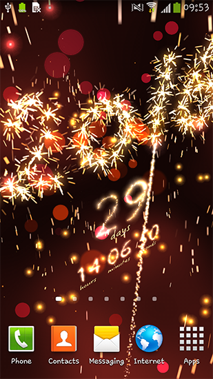 Download livewallpaper New Year: Countdown for Android. Get full version of Android apk livewallpaper New Year: Countdown for tablet and phone.