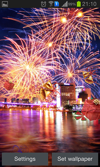 Download livewallpaper New Year's Eve for Android. Get full version of Android apk livewallpaper New Year's Eve for tablet and phone.