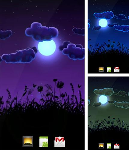 Download live wallpaper Night Nature for Android. Get full version of Android apk livewallpaper Night Nature for tablet and phone.