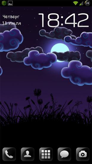 Night Nature Hd Live Wallpaper For Android Night Nature Hd