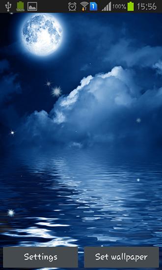 Night sky pour android t l charger gratuitement fond d - Telecharger gratuitement manga ...