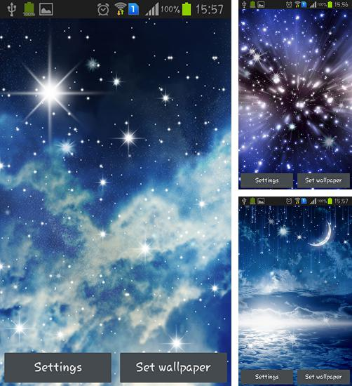 In addition to live wallpaper Meteors sky for Android phones and tablets, you can also download Night sky for free.